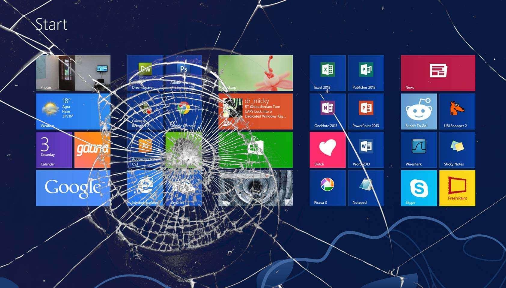 cracked tablet screen repair